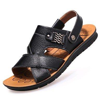 SHOES-XJIH&Hombre de sandalias de verano tacón plano exterior de nylon de sarga gancho bucle &Amp; zapatos de agua,Blue,US11 / UE44 / UK10 / CN46