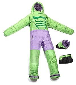 Selk'bag Incredible Hulk Sleeping Bag, Small, Green