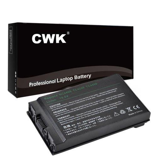 (CWK Long Life Replacement Laptop Notebook Battery for HP Compaq NC4400 TC4200 TC4400 NC4200 HSTNN-C02C HSTNN-IB12 TC4200 TC4400 395792-361)