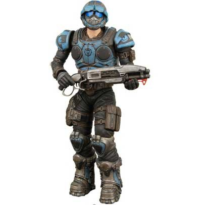 Gears of War NECA Series 3 Action Figure COG Soldier
