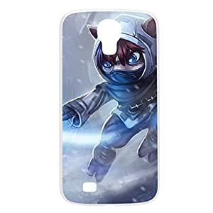 Kennen-002 League of Legends LoL case cover for Samsung Galaxy S4, GT I9500, I9005, I9006 - Plastic White