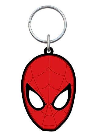 Monogram Marvel Comics Spiderman Head Soft Touch PVC Llavero ...