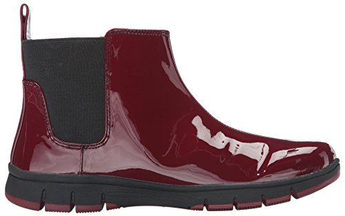 Easy Burgundy Women's Street Ankle Bootie Lena Patent 7qnr7ZPx8v