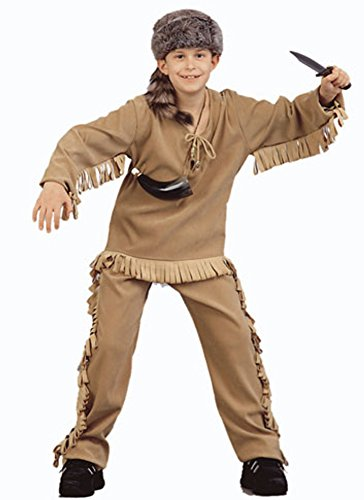 Child's Daniel Boone Halloween Costume (Size: Large -