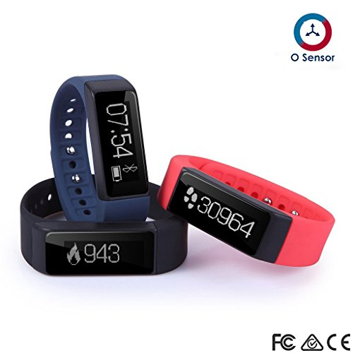 OUMAX FIT T3 Activity and Fitness Tracker (Pack Includes ...