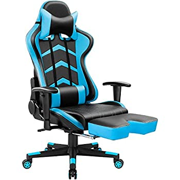 Amazon.com  GTRACING Gaming Chair Racing Video Game Chair Ergonomic ... 5f986bcce7364