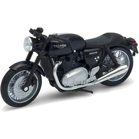 Amazon.com: Welly Triumph Thruxton 1200 Diecast modelo moto ...