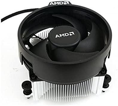 AMD Wraith Spire Socket AM4 - Ventilador de CPU de 4 pines con ...
