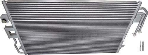 Mariner Mercury Condenser - APDTY 3782 AC Air Conditioning Condenser With AT Automatic Transmission Fluid Oil Cooler Fits 2009-2012 Ford Escape 2009-2011 Mercury Mariner 2009-2010 Mazda Tribute (Replaces 9L8Z-19712-A, YJ519)