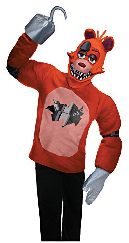 Rubie's Men's Five Nights At Freddy's Foxy Costume, Multi, (Five Nights At Freddy's Foxy Halloween Costume)