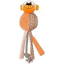 Furree Kids Dog Toys, Melvin Monkey Squeaks, Large