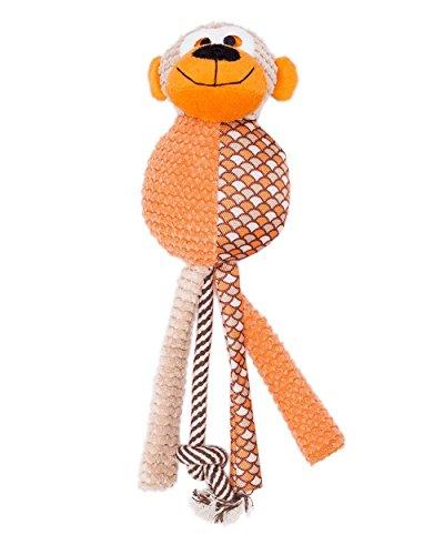 Mega Squeak Squeaker Mat (Furree Kids Dog Toys, Melvin Monkey Squeaks, Large)