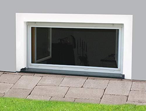 Nagerschutzfenster 100 x 60 cm anthrazit Insekenschutzfenster Kellerschutzfenster M/äuse Gitter Insektenschutz Ungezieferschutz