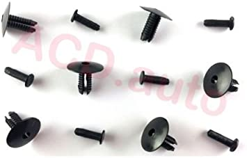 100 Bumper Trim Door Sill Rivet Clips Retainer 51118174185  Fit For E38 E39 E46