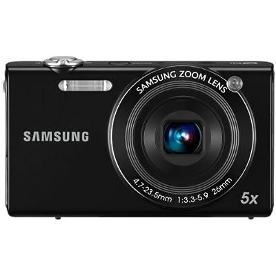 Samsung SH100 WiFi Digital Camera Black  14 2MP  WiFi  Optical Zoom  inch LCD
