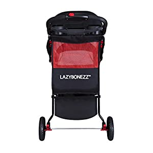 LazyBonezz - The Lazy Jogger Dog Pet Stroller - Black