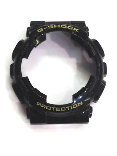 Casio G-shock Ga100 /Ga110/ Ga120/gd100/watch Bezel Rubber Case Cover/black
