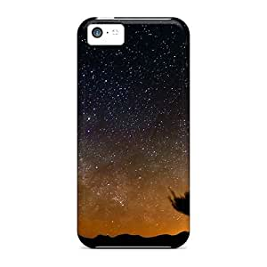 Purecase Scratch-free Phone Case For Iphone 5c- Retail Packaging - Desert Night