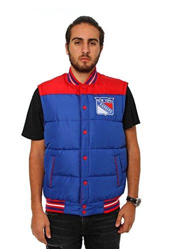New York Rangers Reversible Puffer Vest (XX-Large)
