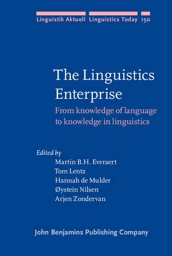The Linguistics Enterprise: From knowledge of language to knowledge in linguistics (Linguistik Aktuell / Linguistics Today)