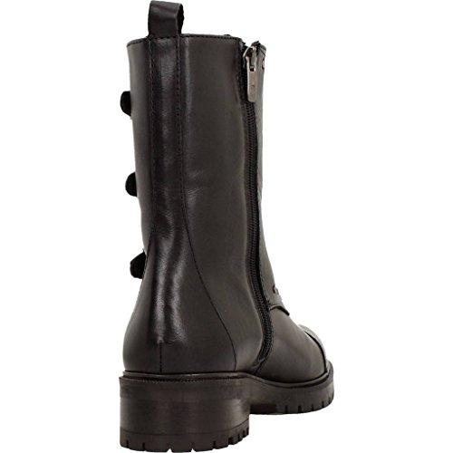 Alpe De Black Piel 34642005 Black Boot 60waYqY
