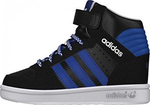 adidas Pro Play 2 CF I - Zapatillas para niños Negro / Azul / Blanco