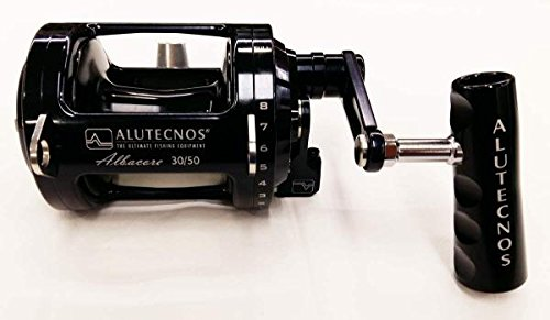 Alutecnos Fishing Reels - ALUTECNOS ALBACORE REEL 30/50LB (BLACK)