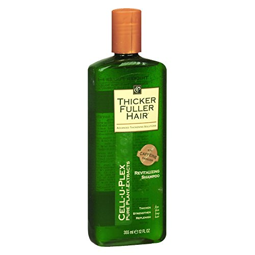 Thicker Fuller Hair Revitalizing Shampoo, 12 oz (Pack of 5) (Thicker Fuller Hair Revitalizing Shampoo)