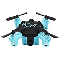 Mini RC Drone,Selfie Remote Control Quadcopters with 0.3MP HD Camera 2.4G 4CH 6-axis Gyro RTF Quadcopter Present Gift for Kids Beginners,by MKLOT