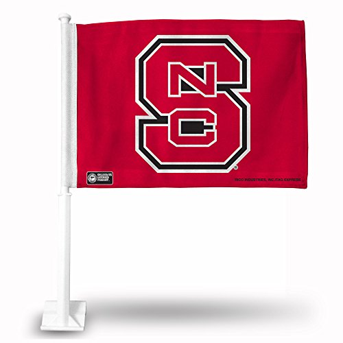 Rico Industries NCAA North Carolina State Wolfpack Car Flag