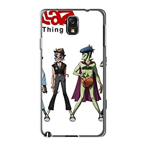 Samsung Galaxy Note3 MQW13204ZwGE Allow Personal Design Trendy Gorillaz Band Skin Best Hard Cell-phone Case -AlissaDubois