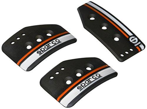 Sparco 037879OP01 Pedal Set (Settanta Short Black)