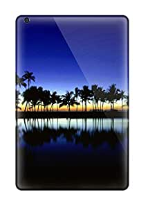 Ipad Cover Case - Palm Silhouette Big Island Hawaii Protective Case Compatibel With Ipad Mini 6462404I18504616