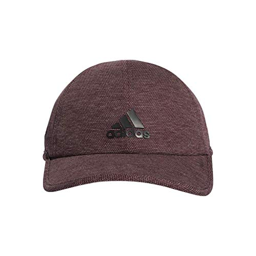 adidas Men's Superlite Pro Relaxed Adjustable Performance Cap, Maroon/Black, One Size ()