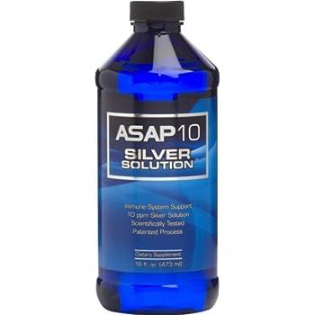 Amazon Com Asap Activz Silver Solution 10ppm 16oz