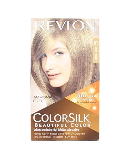 Colorsilk By Revlon, Ammonia-Free Permanent, Haircolor: Dark Blonde #6N - 1 Ea ( Pack of 5 )