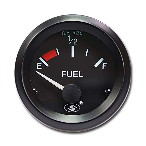 "MOTOR METER RACING Fuel Level Gauge 2"" Included Sender Panel"