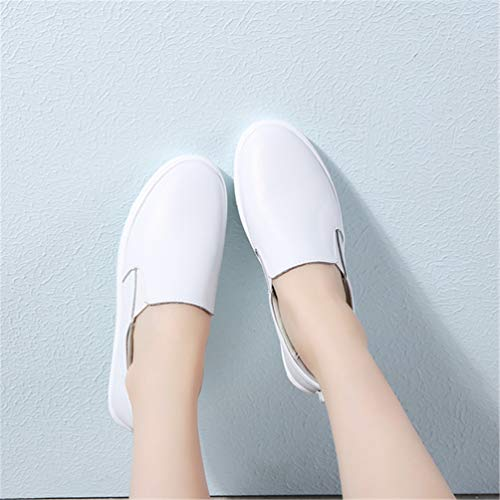 Scarpe Bianco Donne Shoes B Pelle Autunno Casual camoscio Sneakers Femal Flats XXwq6H