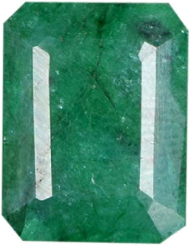 Gemhub Preciosa piedra preciosa verde esmeralda brillante de 3,45 quilates con certificado de óvalo – Gema de alta calidad AO-878