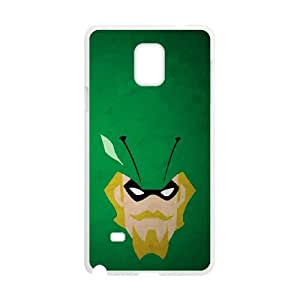 Samsung Galaxy Note 4 Cell Phone Case White Superhero Captain America, Spider Man, Iron Man, Wolverine, ant man, Green Arrow, Batman, Joker Logo 16 OJ454083