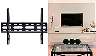 "YBG Imports - TV Wall Mount - Flat Screen Low Profile LCD LED Plasma OLED Flat Fixed TV Wall Mount 32"" - 65"" and 165 lbs Weight Loading Capacity Samsung/LG/VIZIO/Sharp/Sony/Toshiba/TCL/Hisense LCD LED"