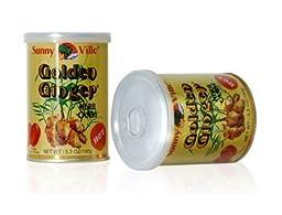 印尼黃金薑糖 Sunny Ville Golden Ginger Herb Candy (5.3 Oz. - 150g.) X3 Cans