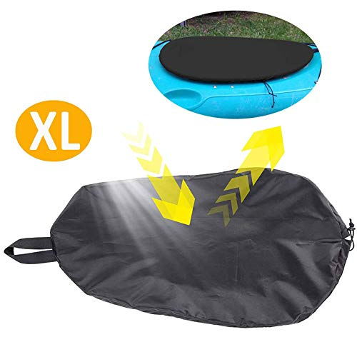 (NiceCo Breathable Adjustable UV50+ Blocking Kayak Cockpit Cover Seal Cockpit Protector Ocean Cockpit Cover)