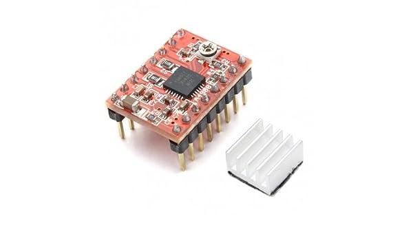 Kyz Kuv 3D impresora A4988 Reprap módulo de controlador de Motor ...