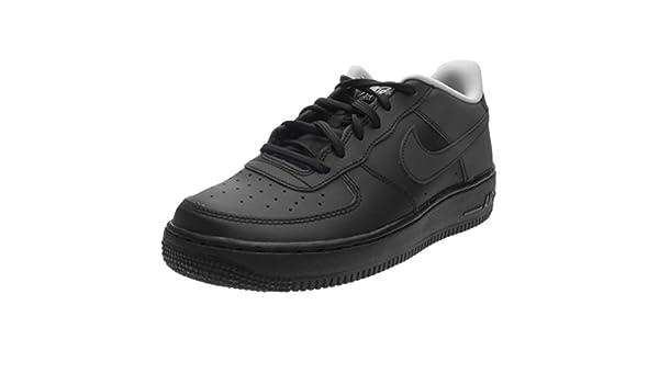 Amazon.com   Nike Kids Air Force 1 LV8 GS, Black/Black-Wolf Grey, Youth Size 4.5   Basketball