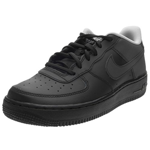 Amazon.com | Nike Kids Air Force 1 LV8 GS, Black/Black-Wolf Grey, Youth Size 4.5 | Basketball