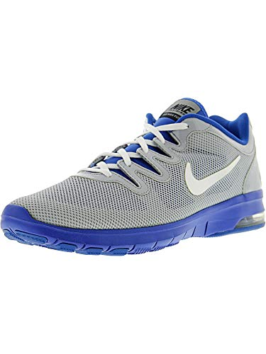 Nike Women's Air Max Fusion Team Wolf Grey/White - Treasure Blue Pure Platinum Ankle-High Mesh Running Shoe 11.5M