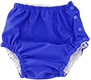 Baby Reusable Swim Diaper Adjustable Washable Snap Swimsuit Diaper for Infant Girls Boys