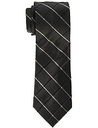 Men's Waffle Windowpane Tie