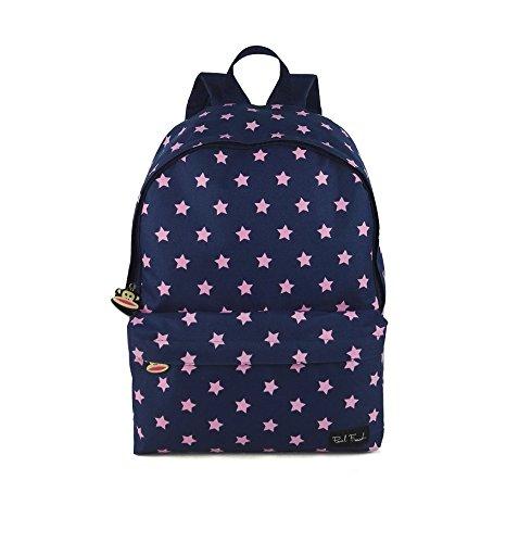 子供用バックパックとペンケースセット!人生のためのBEAUペリーバッグをプラス! (ポールフランク)   B074H6V16H